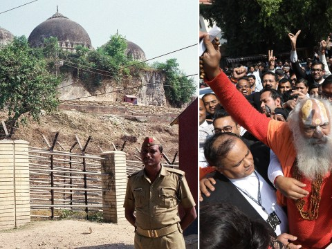 Hindus win control of Indian holy site disputed by Muslims