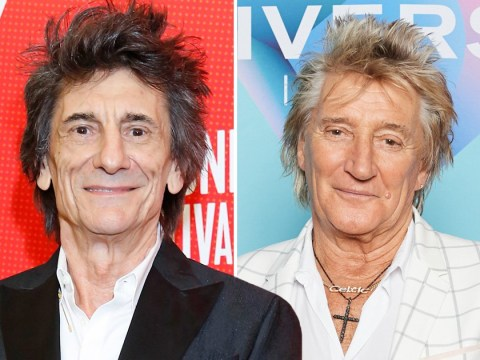Ronnie Wood reveals Rod Stewart worried about announcing his secret cancer battle to the world