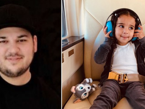 Rob Kardashian treats daughter Dream to very first helicopter ride for third birthday