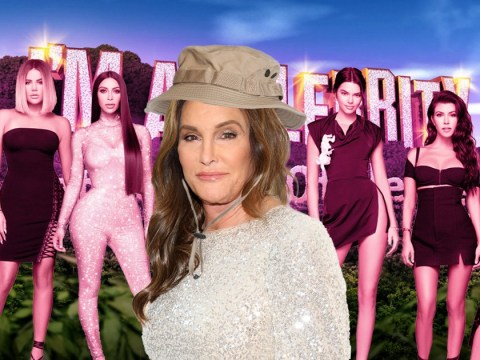 What happened between Caitlyn Jenner and the Kardashians as she appears on I'm A Celebrity?
