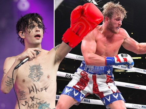 The 1975's Matty Healy jokes he's quitting the band to 'get ripped' and fight a YouTuber after KSI and Logan Paul's boxing match