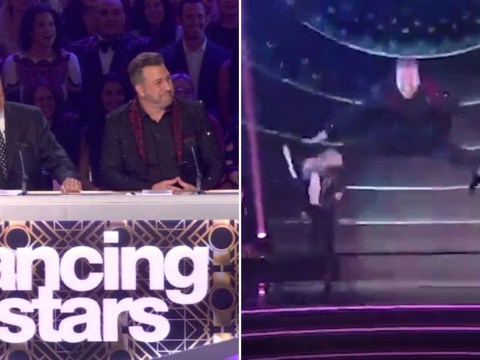 NSYNC's Joey Fatone splits trousers live on Dancing With The Stars and acts like nothing happened