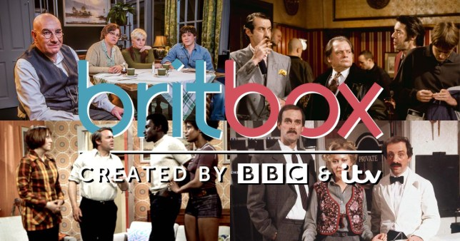 Caption: Britbox marks British sitcoms as inappropriate and blocks them from airing.