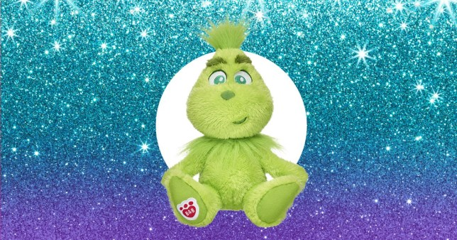 The Grinch Santa Suit Gift Bundle from Build-A-Bear