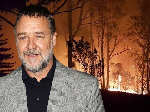 Russell Crowe reveals devastating wildfires hit his home in Australia but he and his family are safe