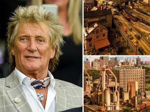 Rod Stewart unveils epic model railway after 26 years