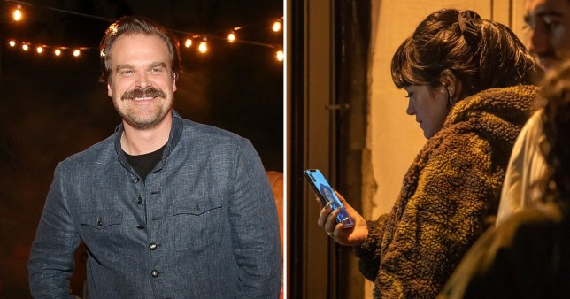 Lily Allen FaceTiming David Harbour while on a night out in Paris is just the cutest thing