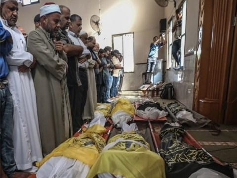 Toddlers among 'eight family members killed in Israeli airstrike'