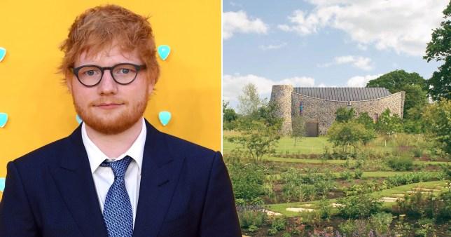 Ed Sheeran chapel