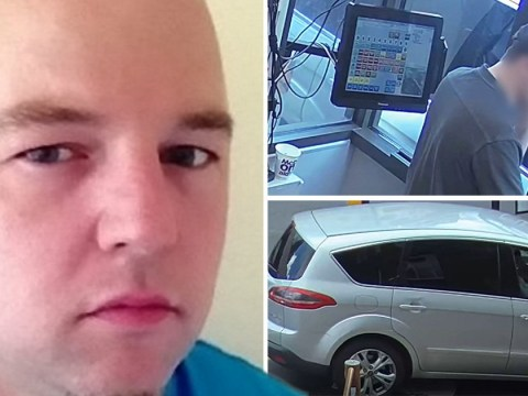'Serial rapist' caught on drive-thru CCTV 'while victim was held in car'