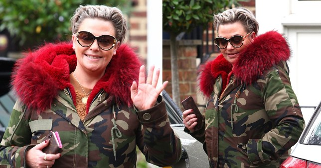 Lisa Armstrong ignores Ant McPartlin divorce drama as she heads to Blackpool for Strictly Come Dancing