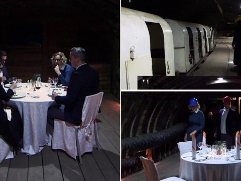 Slovenian fine dining experience opens in coal mine that claimed 31 lives
