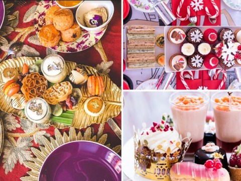 The best Christmas afternoon teas to try in London
