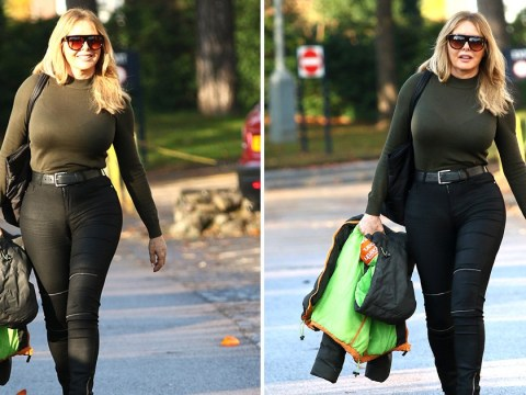 You can't get Carol Vorderman out of her skinny jeans after Amanda Holden references her 'bum you can bite'