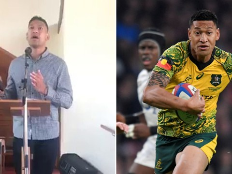 Disgraced rugby player Israel Folau blames Australia bush fires on gay marriage
