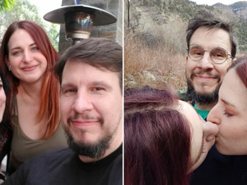 Woman flew 500 miles to lose her virginity to a couple – and now they're all in a polyamorous relationship
