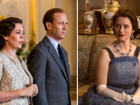 The Crown's Tobias Menzies is happy to be paid less than 'more established' co-star Olivia Colman