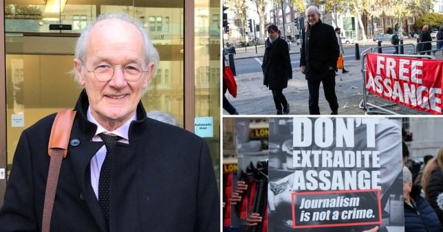 Julian Assange court hearing