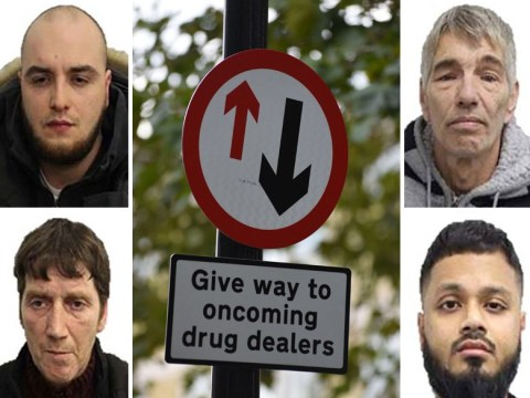 Drugs gang caught after residents paint 'drug dealers only' on parking bays