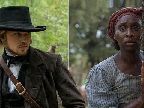 Harriet's Cynthia Erivo says Joe Alwyn couldn't have been 'sweeter' while filming tough slave owner scenes