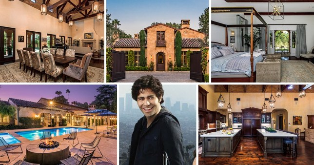The Entourage house is for sale
