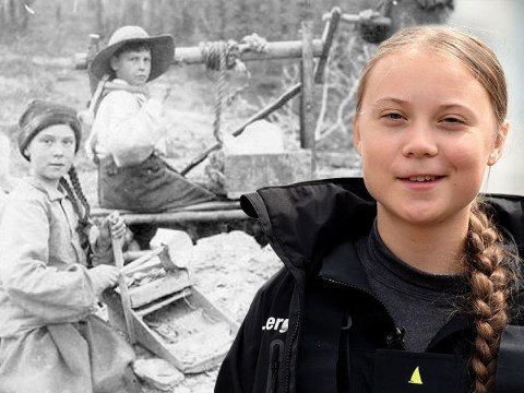 'Greta Thunberg' spotted in 120-year-old photo