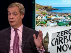 Farage fails to name a single thing he has done to help environment
