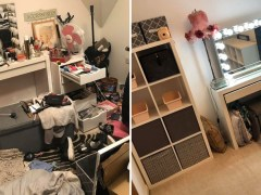 Woman's messy room transformation shows the reality of living with anxiety