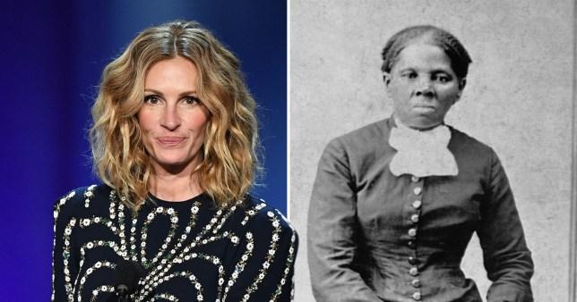 Julia Roberts was originally favourite to play black slave abolitionist Harriet Tubman in biopic
