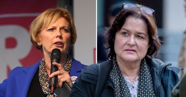 Amy Dalla Mura, right, targeted Ms Soubry between January and March this year