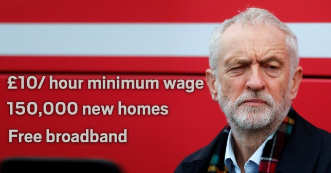 Labour launches its manifesto in Birmingham today (Picture: PA)