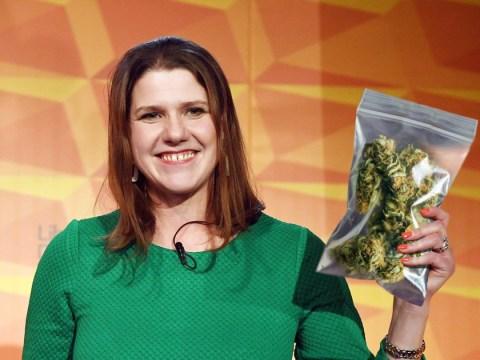 Jo Swinson says she 'enjoyed' smoking weed at uni after Lib Dem pledge to make it legal
