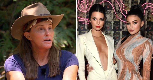 Caitlyn Jenner with daughters Kylie and Jenner