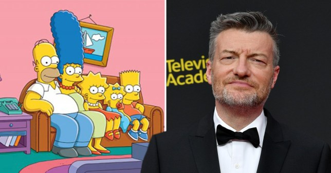 the simpsons charlie brooker