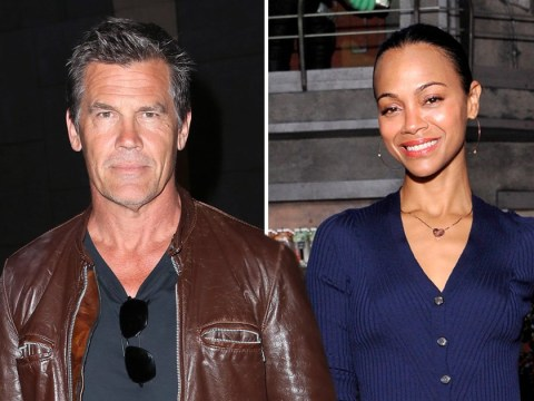 Avengers' Josh Brolin thirsts after Marvel daughter Zoe Saldana and it's very awkward