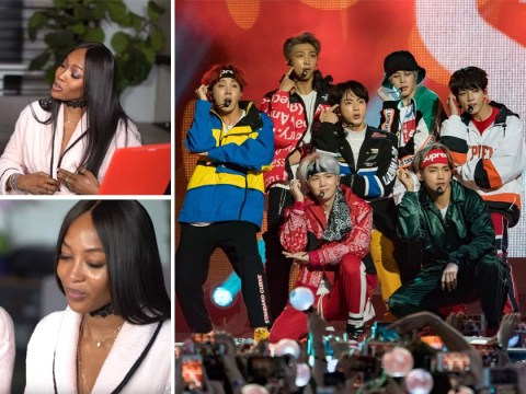 Naomi Campbell has high praise for BTS as fans freak out over Jackie Aina collab