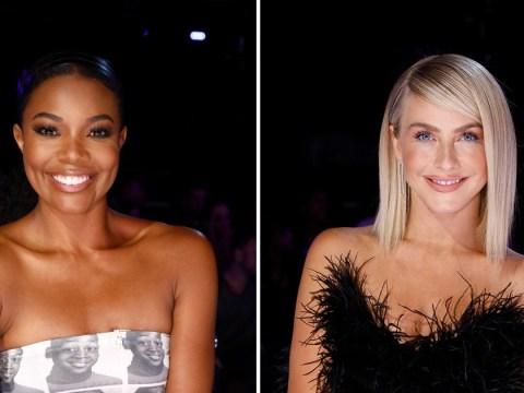Julianne Hough breaks silence over Gabrielle Union's America's Got Talent racism row