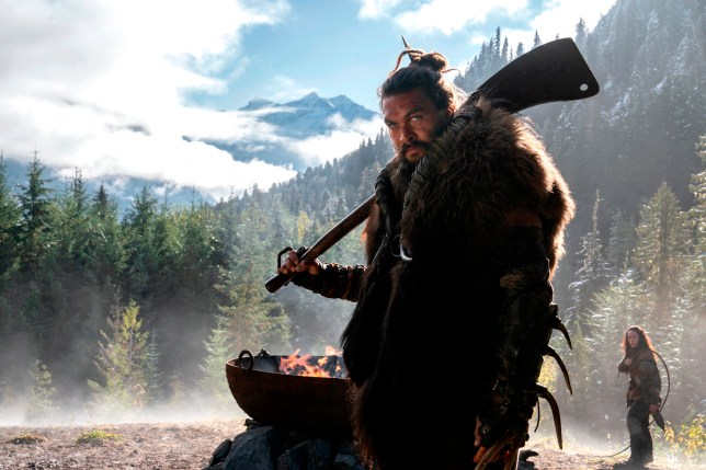 Jason Momoa in an image from See