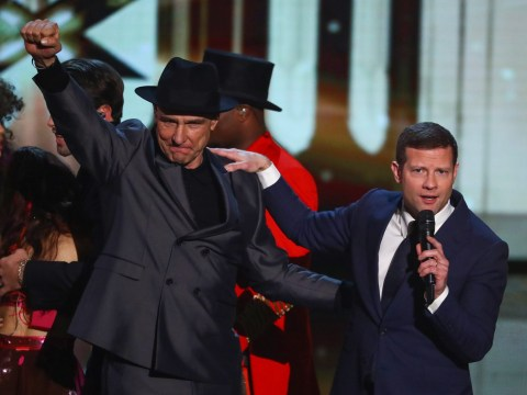 Who left X Factor: Celebrity last night in the semi-final?