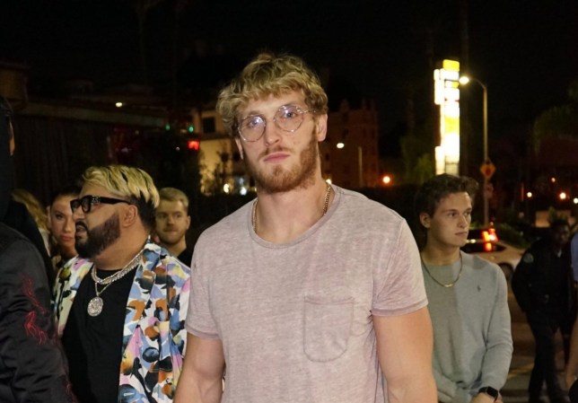 Los Angeles, CA - Logan Paul parties with The Weeknd, Tyga, and others at Hyde. Pictured: Logan Paul BACKGRID USA 23 NOVEMBER 2019 BYLINE MUST READ: piper / BACKGRID USA: +1 310 798 9111 / usasales@backgrid.com UK: +44 208 344 2007 / uksales@backgrid.com *UK Clients - Pictures Containing Children Please Pixelate Face Prior To Publication*