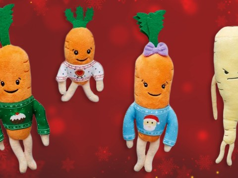 Aldi's limited edition 'Kevin the Carrot' toys are now on sale