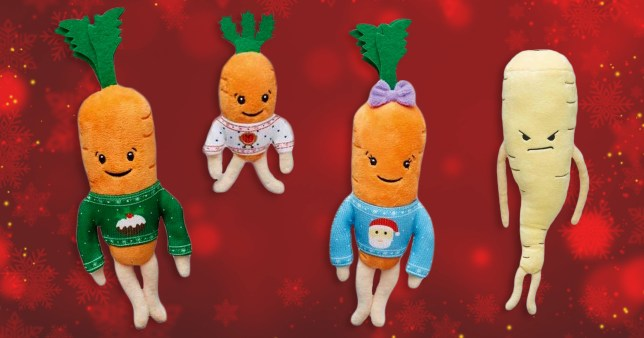 Kevin the Carrot toys onsale at Aldi again today