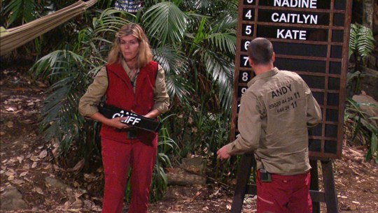 Im A Celebrity Kate Garraway and Andy Whyment