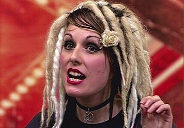 Ariel Burdett on The X Factor in 2008