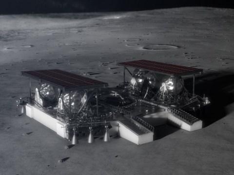Nasa gives us a peek at its futuristic new moon lander