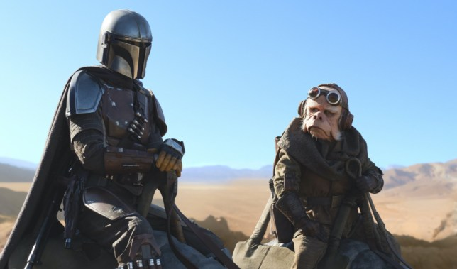 The Mandalorian already more in demand than Stranger Things (Picture: Disney+)