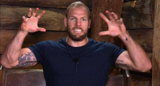 James Haskell on I'm A Celeb