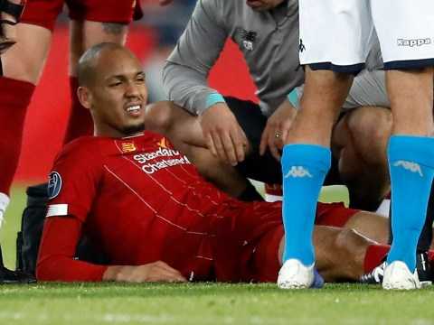 Fabinho to miss ten games for Liverpool after ankle ligament injury confirmed
