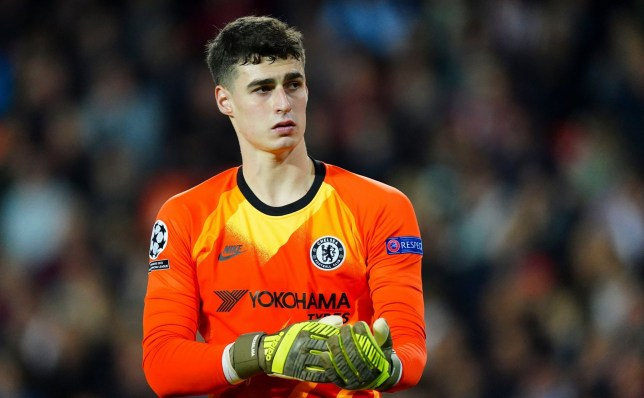 Kepa Arrizabalaga was criticised after Chelsea's draw with Valencia