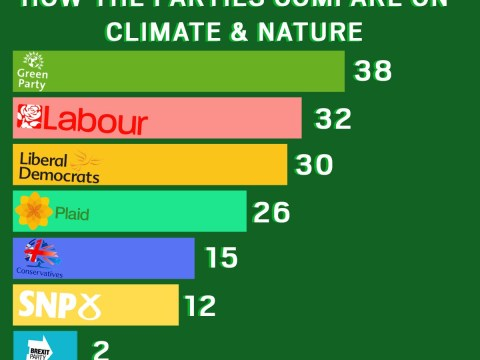 Greenpeace says Tories and Brexit Party are worst for climate change